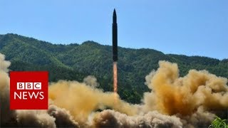 North Korea says it has successfully tested a new type of intercont...