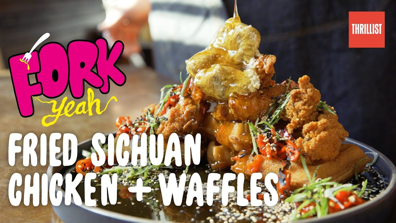 Can You Handle Spicy Sichuan Chicken & Waffles? || Fork Yeah: Hard Times