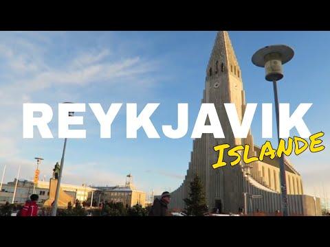 BALADE DANS LE CENTRE DE REYKJAVIK EN ISLANDE (Hallgrímskirkja, Solfar, Laugavegur, la Harpa)