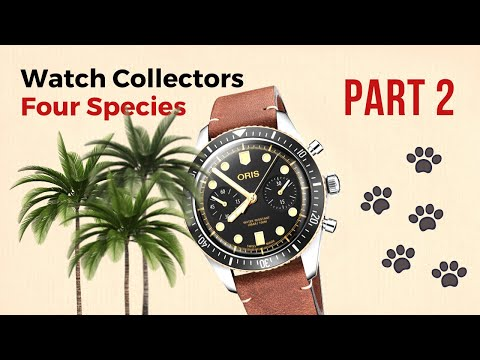 The Different Types Of Wrist Watch Buyers & Collectors. 4 Species. // Part 2