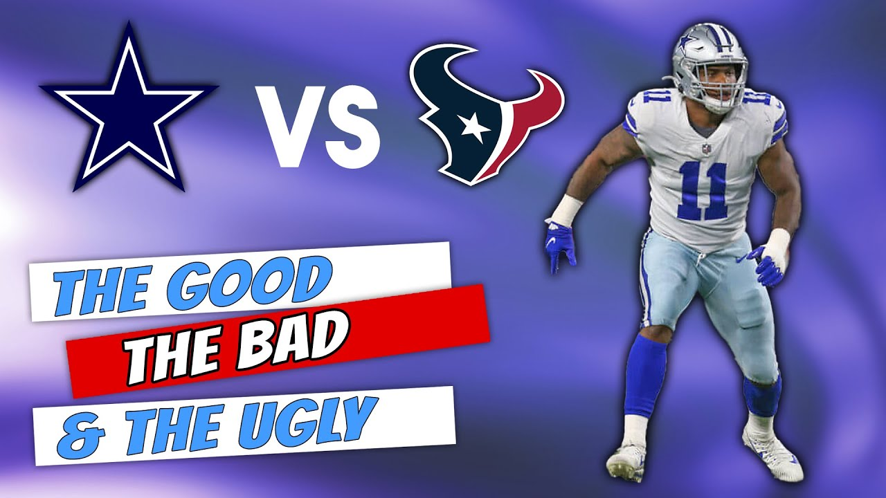 The Good, the bad and the ugly from Cowboys last preseason game ...