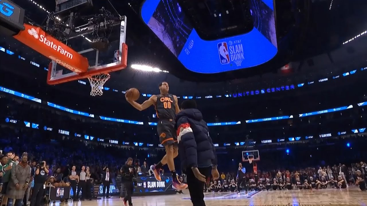 Aaron Gordon 2nd Dunk Final Round | 2020 NBA Slam Dunk Contest