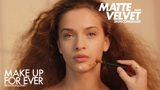 MATTE VELVET SKIN CONCEALER  video