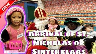 Arrival of Sinterklaas / Saint Nicholas in Lewedorp   Cutey Andrea