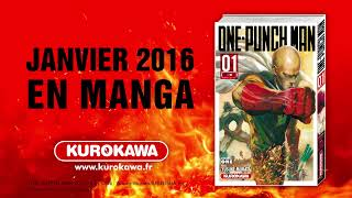 bande annonce de l'album One Punch Man Vol.1