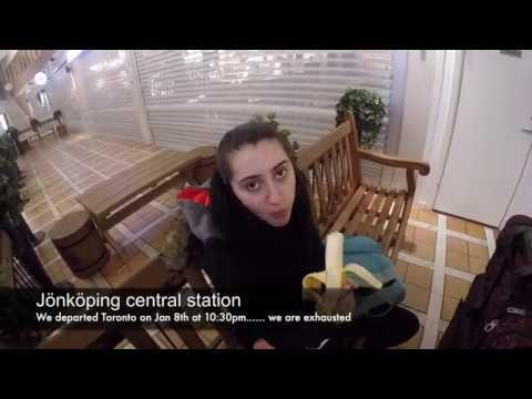 Travelling to Jonkoping Sweden vlog 1