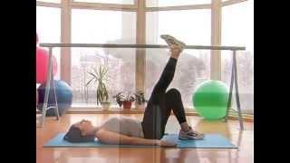Пилатес - упражнения для спины(Пилатес упражнения. Комплекс упражнений по пилатесу для спины. Больше видео на канале http://www.youtube.com/user/tofeelgood1., 2015-09-23T14:11:29.000Z)