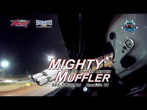 #21 Chris Flood - Sportsman - 4-15-17 Boyd's Speedway - In-Car Camera