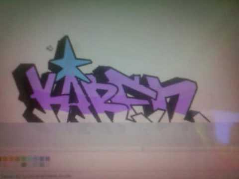 VIDEO GRAFFITI KAREN EN PAINNT  YouTube