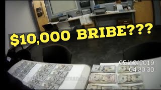 Honest Deputy Refuses a $10,000 cash Bribe from DWI Suspect Ends Up Making a $25,000 Cash/Drug Bust