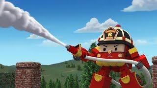Робокар Поли - Новые серии - Рой и пожарная безопасность - Мультик про игрушки трансформеры