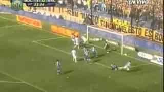 Racing Boca, gol de yacob