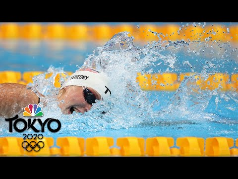 Download Katie Ledecky makes her Tokyo debut with win in 400m free heat | Tokyo Olympics | NBC Sports