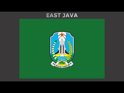Flags of provinces of Indonesia - Vlajky provincii Indonésie