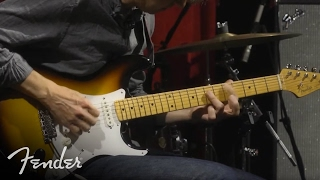 Eric Johnson Tests Out the American Vintage '56 Strat | Fender Video