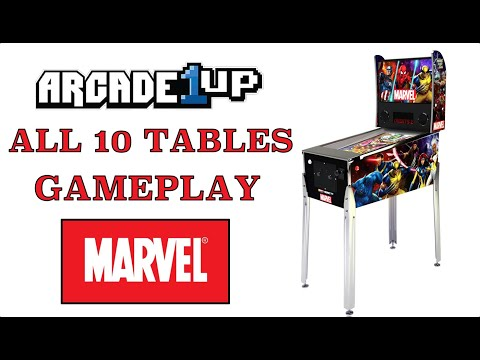Marvel | Arcade1Up Pinball Table - Games List & Gameplay from Original Console Gamer