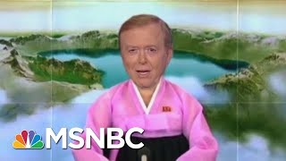 The Propaganda Game Is Strong At The Trump TV Business channel | All In | MSNBC