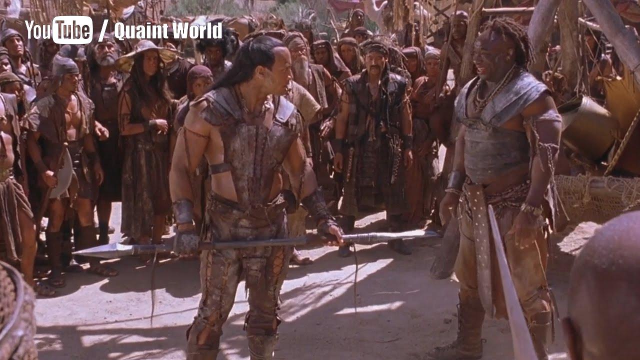 The Rock Vs Michael Clarke Duncan Fight Scene   Dwayne ...