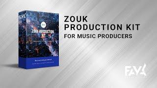 🎵 Zouk Samples - Kizomba Drums - Sample Packs (Wav