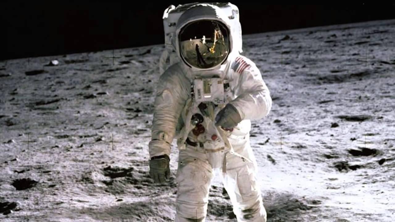 Image result for john glenn walk on moon