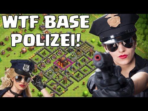 WTF BASE POLIZEI! ☆ Clash of Clans ☆ CoC