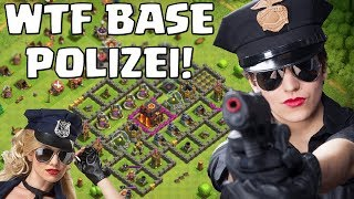 WTF BASE POLIZEI! ☆ Clash of Clans ☆ CoC
