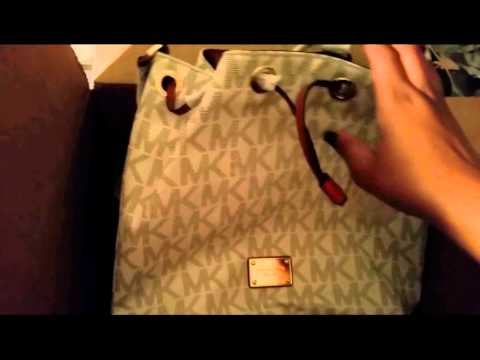 Micheal Kors Unboxing