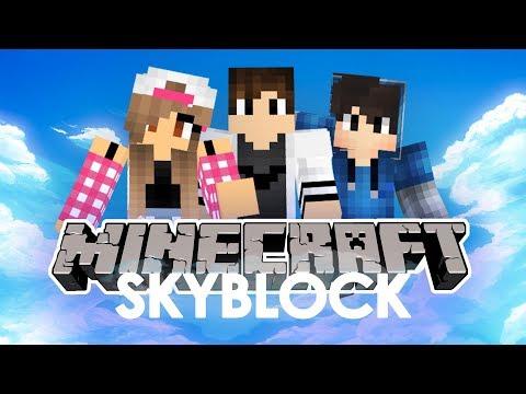 Minecraft: Skyblock #1 - Kto spadnie pierwszy? w/ Guga, Tomek