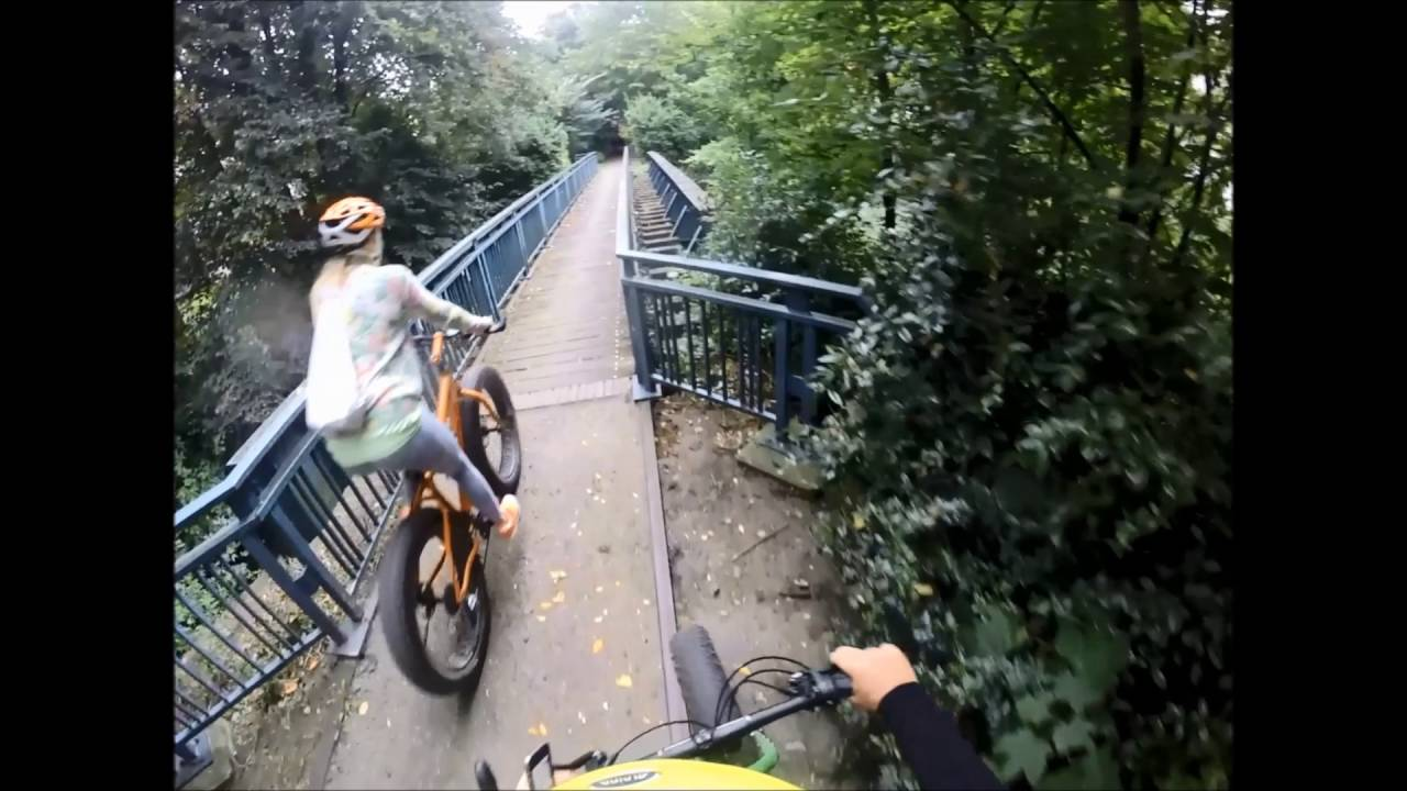Fatbike Tour Nina Bott Hamburg Youtube