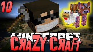 Minecraft CRAZY CRAFT 10 - SOUL SHARDS OP (Minecraft Mod Survival)