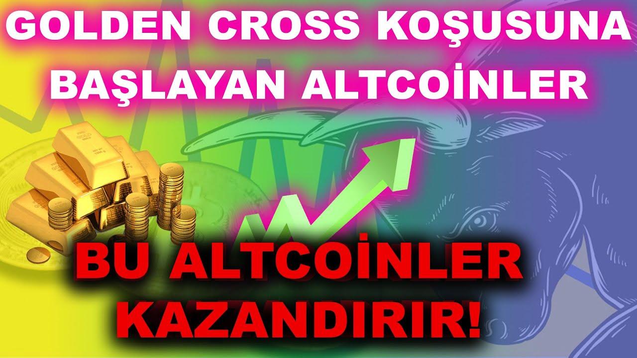 Download GOLDEN CROSS KOŞUSUNA BAŞLAYAN ALTCOİNLER HANGİLERİ? BU ALTCOİNLERE DİKKAT!  Btc Analiz  Altcoin 