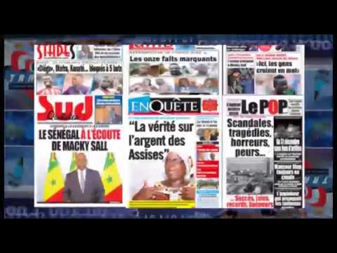 Revue de Presse Economique du 11 Janvier 2018  1
