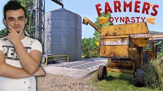 Farmer's Dynasty #4 Pierwsze Żniwa Rzepaku, Naprawa Kurnika i Ogrodzenia!! MafiaSolecTeam