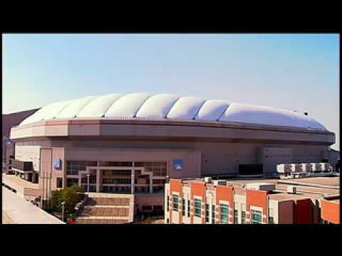 Indianapolis RCA Dome Roof Deflation