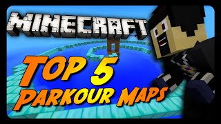 Minecraft Top 5 | BEST Parkour Maps of 2014 | Montage!