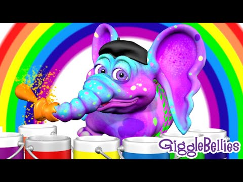 COLORS Song, ABC Song, SHAPES Song | 13 More Learning Songs | GiggleBellies