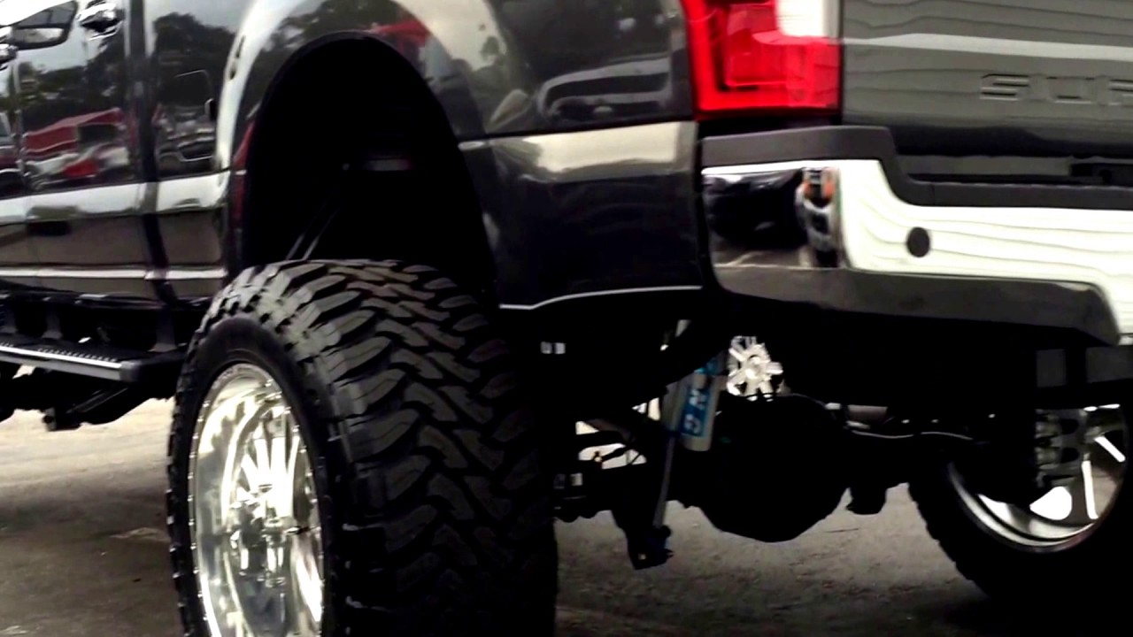 2017 F250 Lifted >> 2017 Ford F250 Lifted Black Widow Southern Comfort! - YouTube