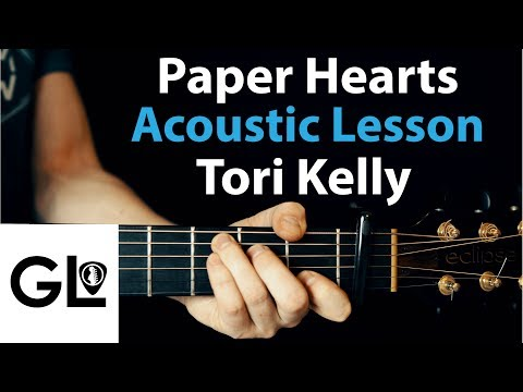 Paper Hearts - Tori Kelly - Acoustic Guitar Lesson/Tutorial 🎸How To Play Chords/Rhythms