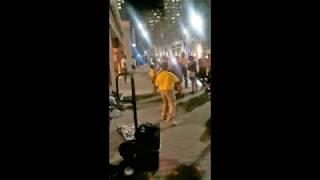 Street Performing After Dark, Tyler Butler-Figueroa, Violinist 11 years old