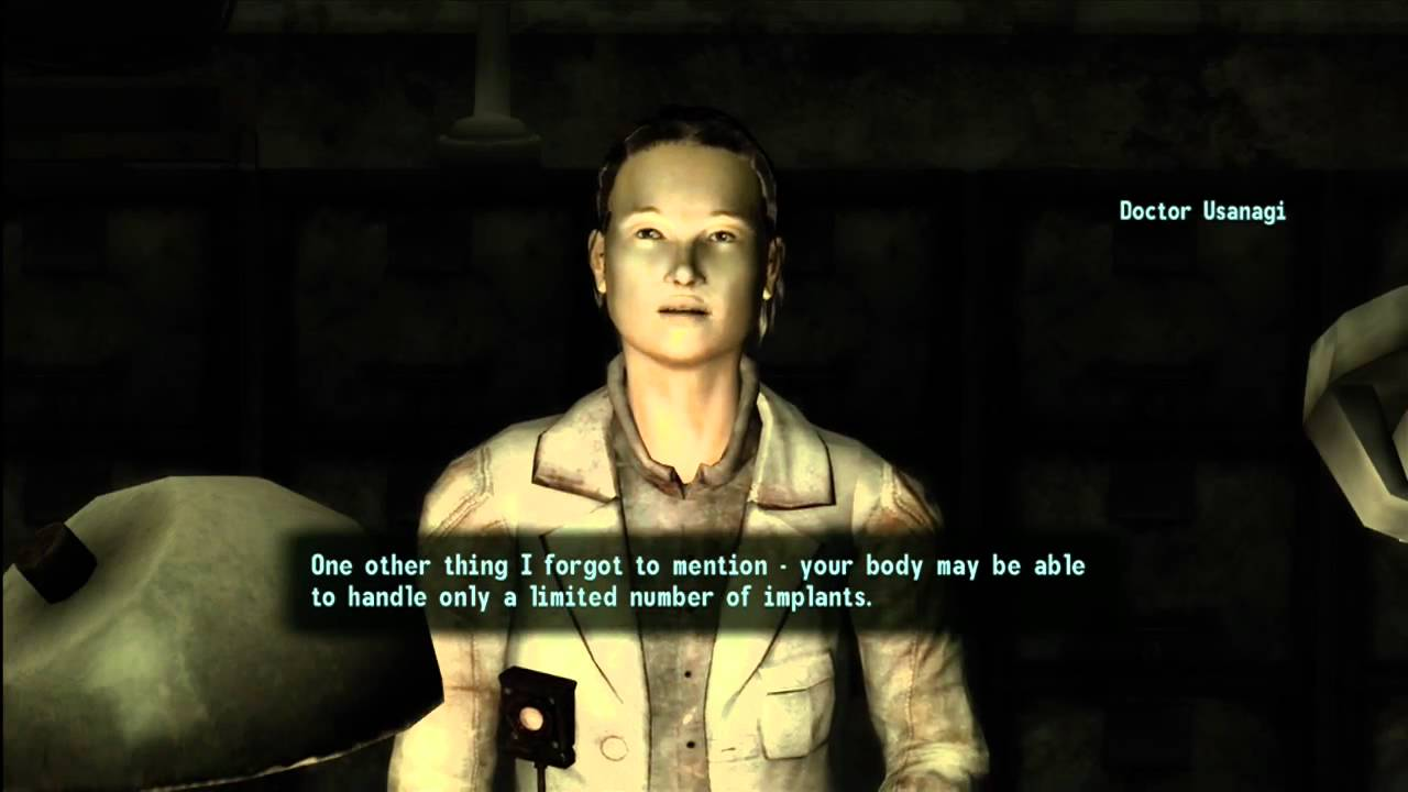 Fallout: New Vegas - Implants! (Permanent Stat Bonuses)