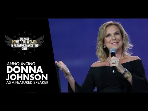 Donna Johnson Featured Speaker at the Most Powerful Women in Network Marketing Event