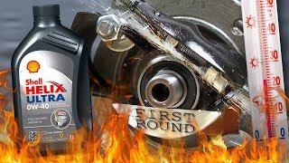 Shell Helix Ultra 0W40 Jak skutecznie olej chroni silnik? 100°C