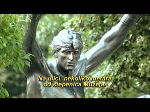 Rocky Statue In Zitiste Serbia 2007 Youtube
