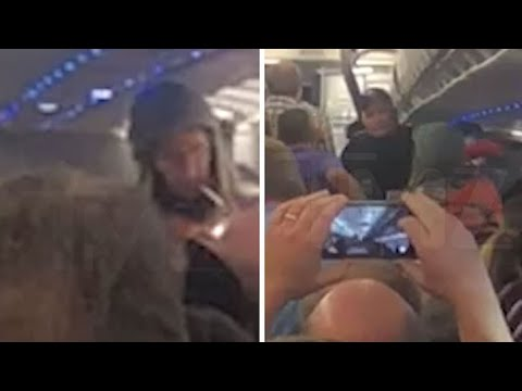 Your Morning Show - Man lights up joint as he is kicked off flight in Denver