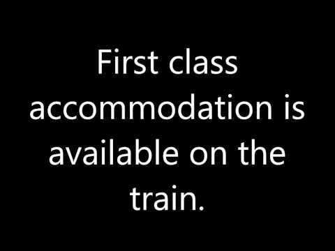 Nottingham Station announcements