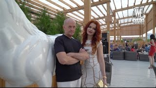 ПРЕЗЕНТАЦИЯ АЛЬБОМА ЕЛЕНЫ КНЯЗЕВОЙ / WORLD FASHION TV