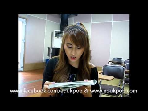 K POP Star Experience Program Korean Class(Milan)