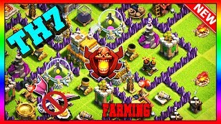 New Best Town Hall 7 (TH7) Farming Base 2019 | Clash Of Clans [Slow Build]