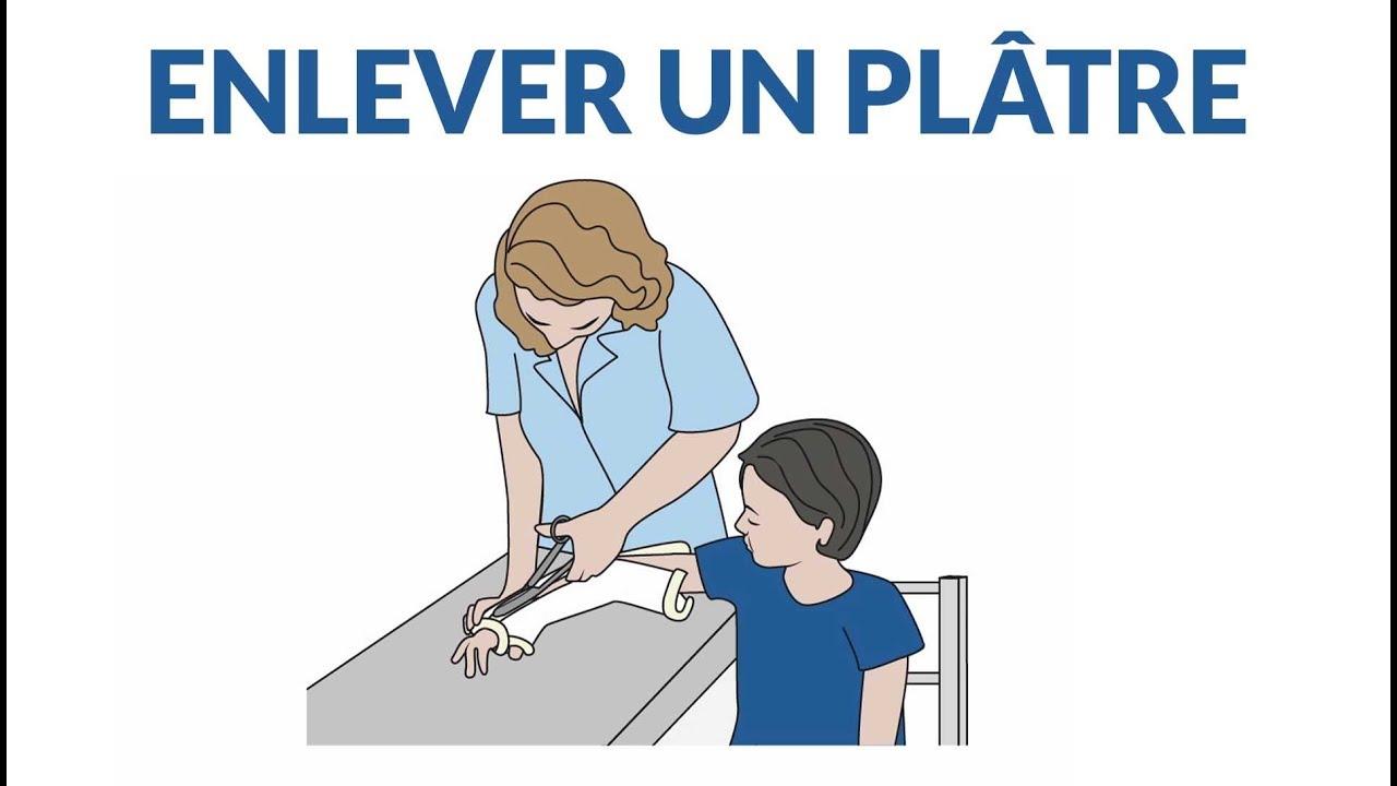 Comment enlever un plâtre ?