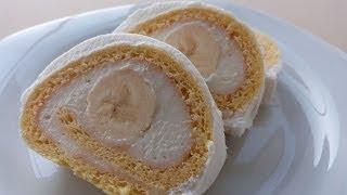 Muzlu Rulo Pasta Tarifi | Yaş Pasta Tarifi | Pasta Nasıl Yapılır